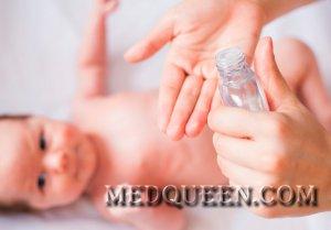 Заболевания кожи у грудных детей