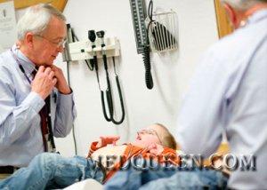 Первичный осмотр ребенка у врача