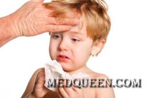 Сыпь с высокой температурой тела