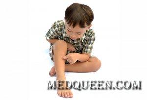 Первая помощь при растяжениях у детей