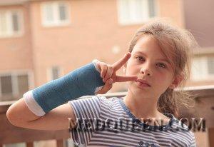 Перелом кости или вывих у ребенка