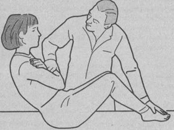 Определение силы брюшных мышц