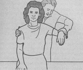 Определение силы плечевой мышцы