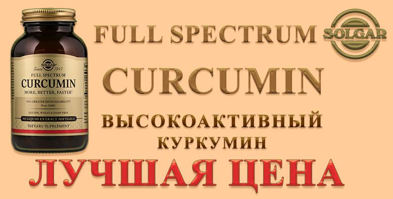 Купить SOLGAR Curcumin