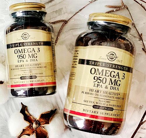 SOLGAR Omega-3 EPA & DHA «Triple Strength», 950 mg