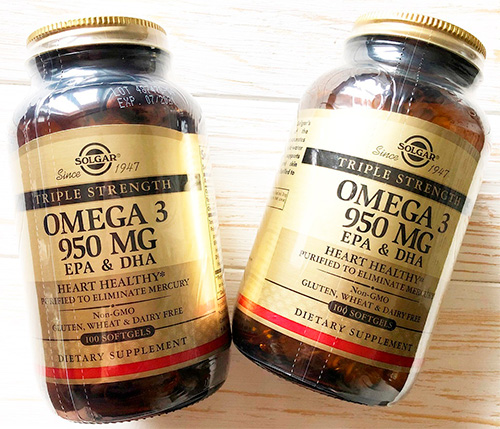 SOLGAR Omega-3 EPA & DHA «Triple Strength»