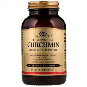 SOLGAR Curcumin 90 капсул