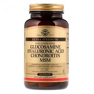 Купить SOLGAR Glucosamine, Hyaluronic Acid, Chondroitin, MSM