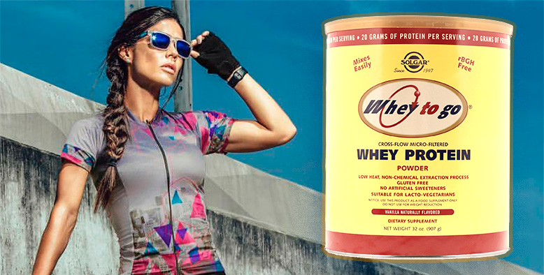 SOLGAR «Whey To Go» Whey Protein Powder
