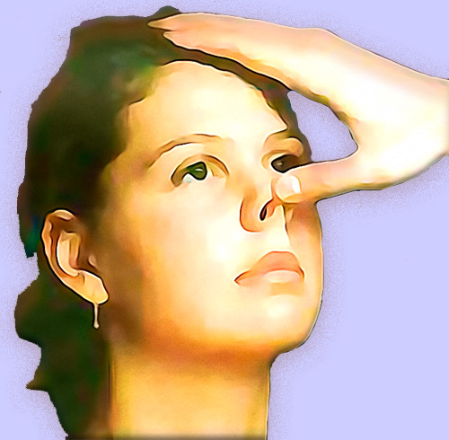 Осмотр преддверия носа