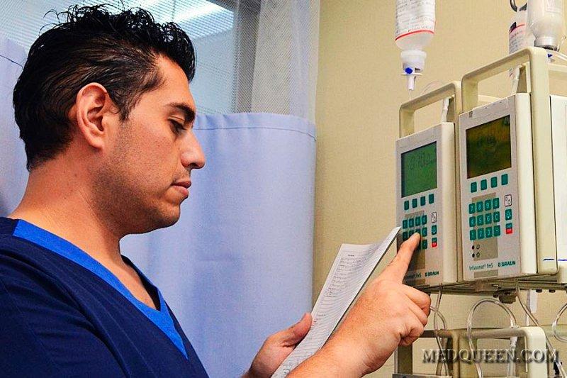 Cкорость инфузии через линеомат