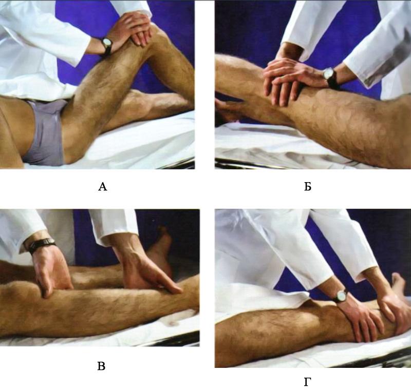 Определение силы мышц тазобедренного сустава